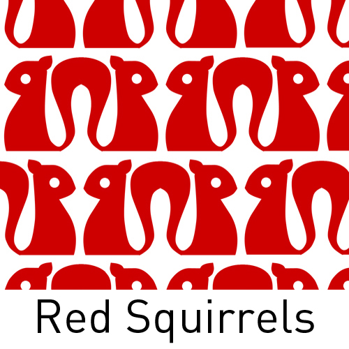Squirrels Red