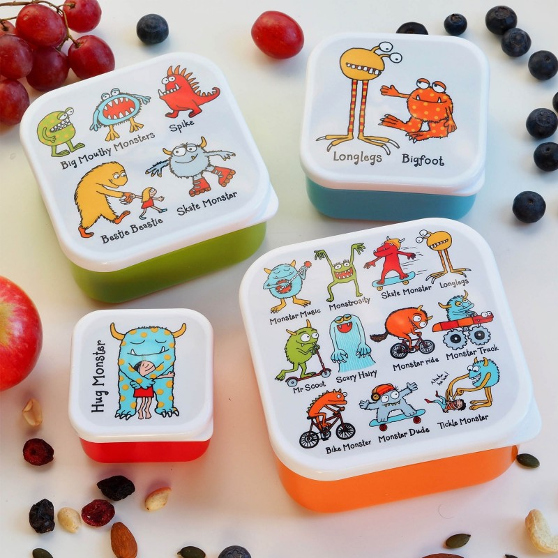 Monsters Snack Boxes