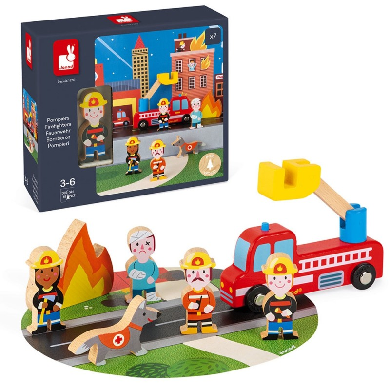 Firefighters Story Play Set