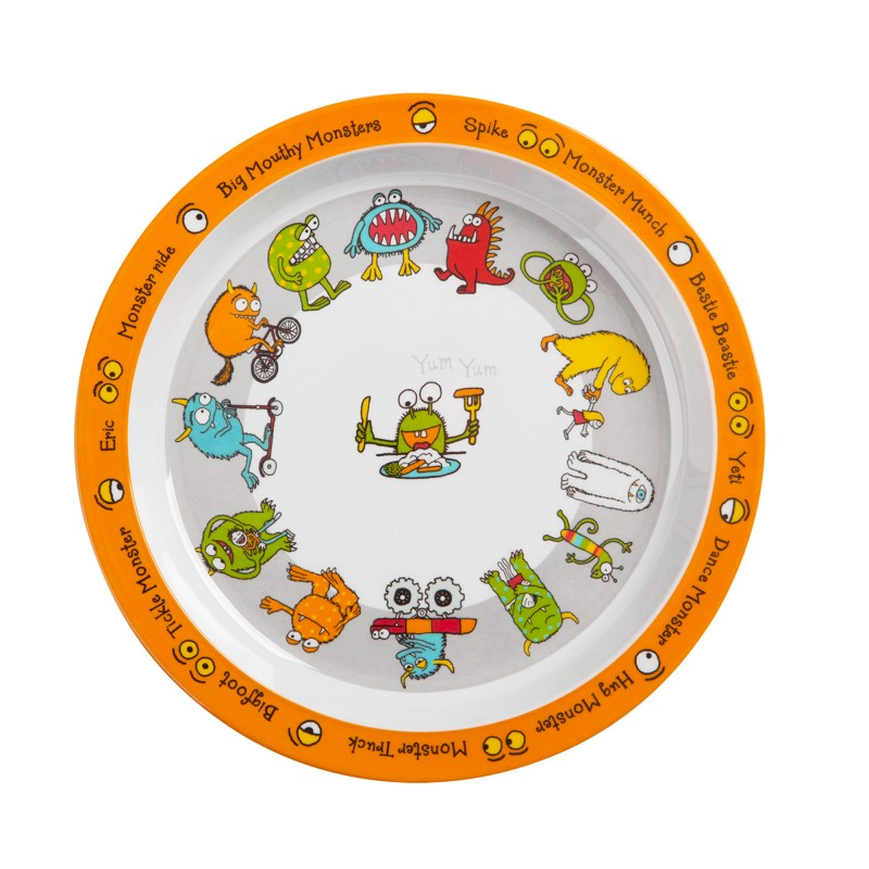 Monsters Design Melamine Plate  sc 1 st  Tyrrell Katz & Plates - Toddler Feeding