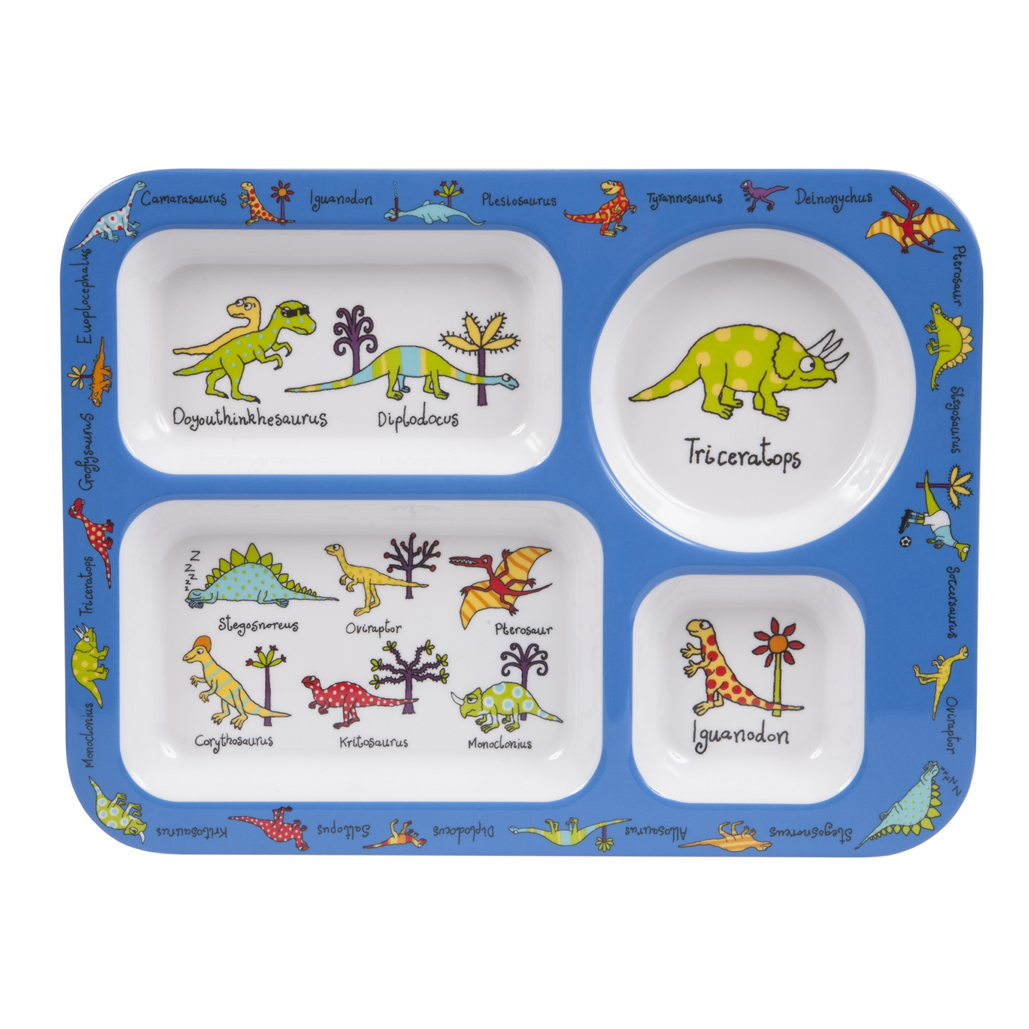 Dinosaurs Compartment Tray