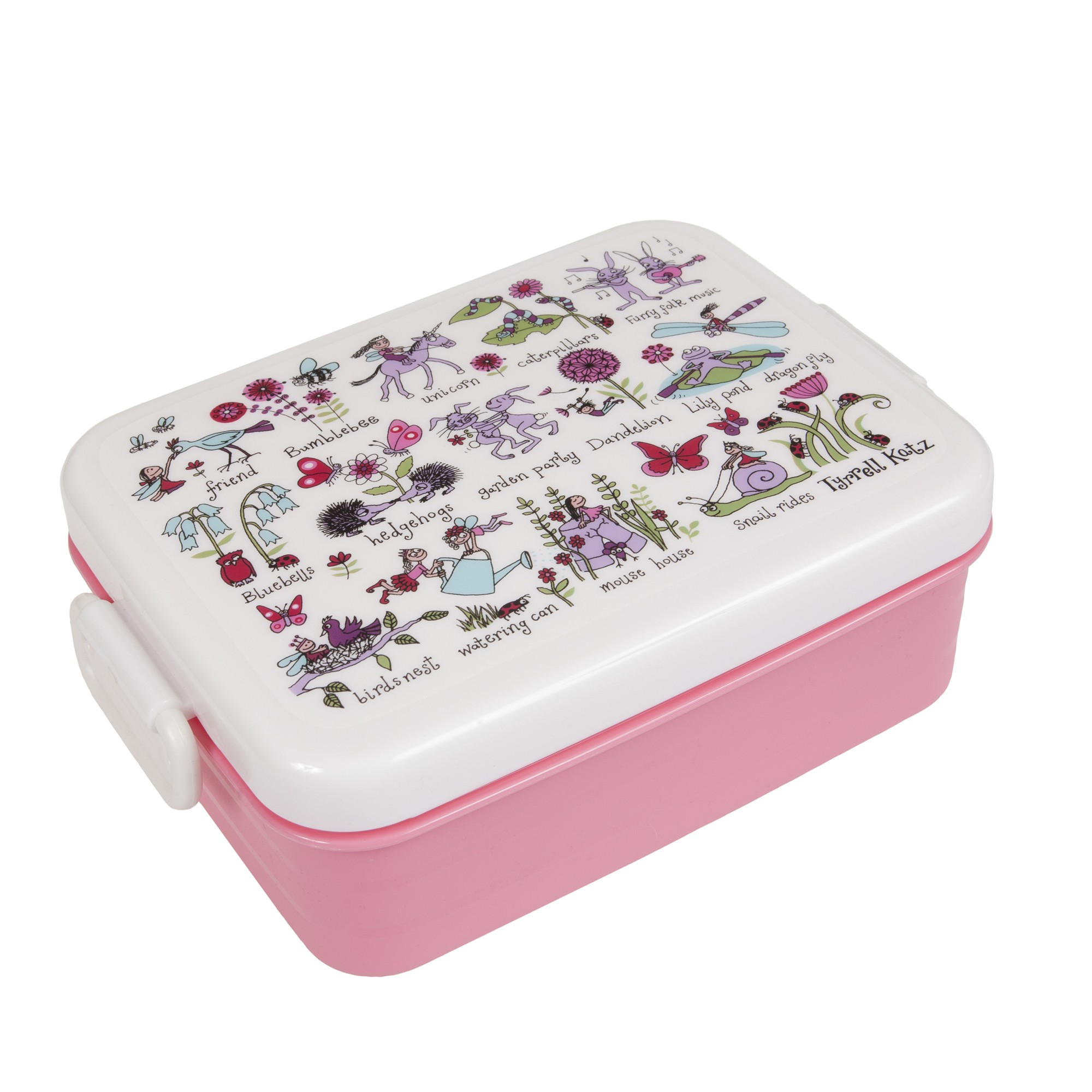 Secret Garden Lunch Box