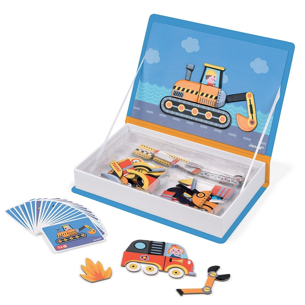 Racers Magnetic Book