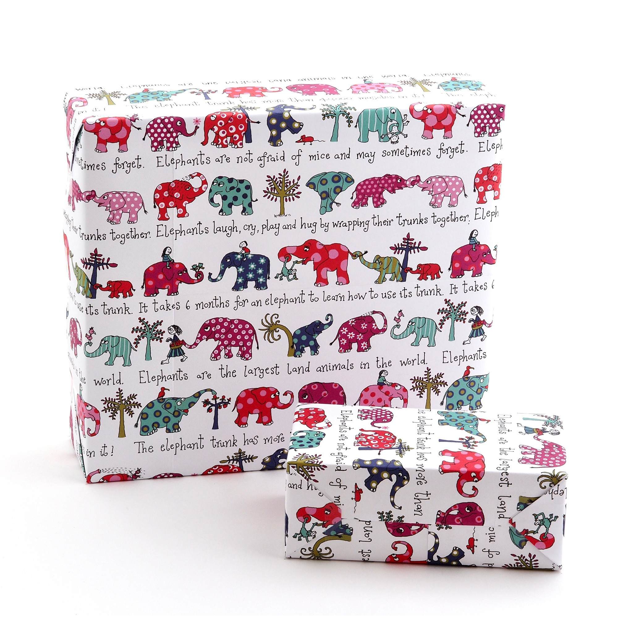 Elephants Wrapping Paper