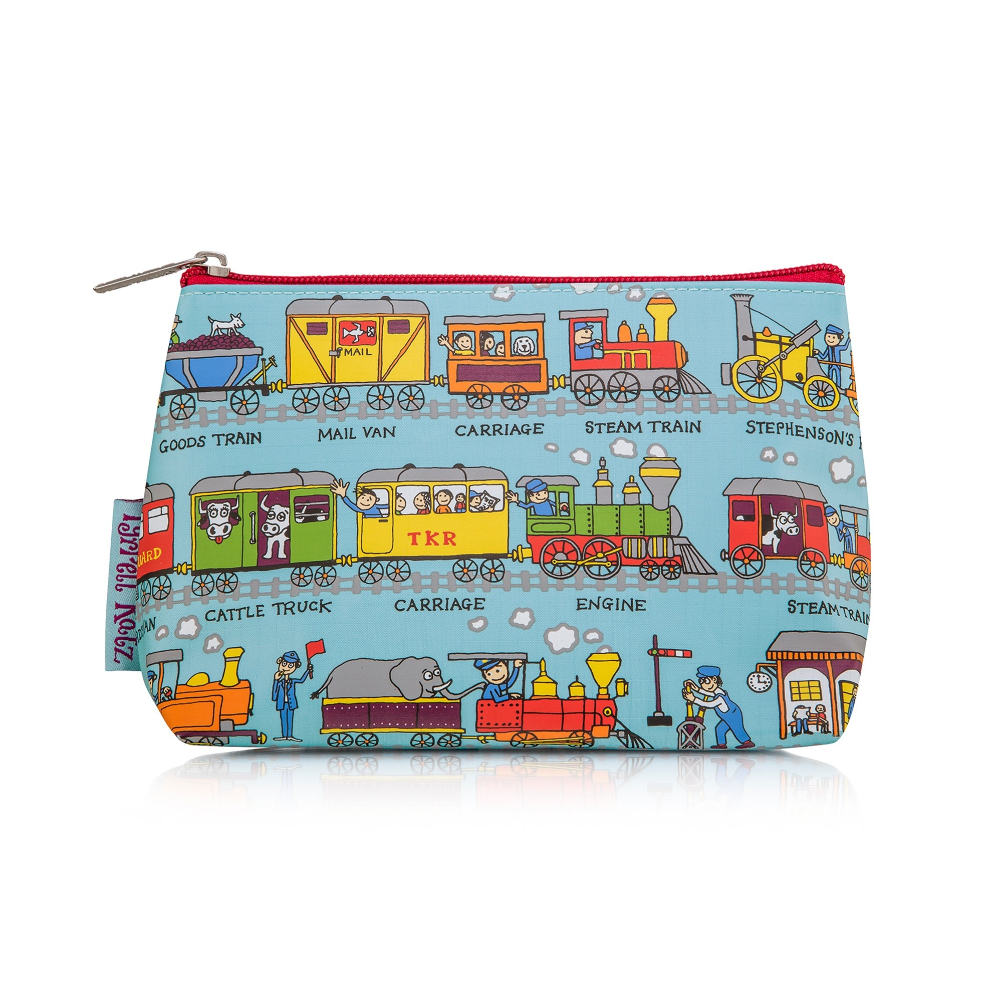 Trains Wash Bag