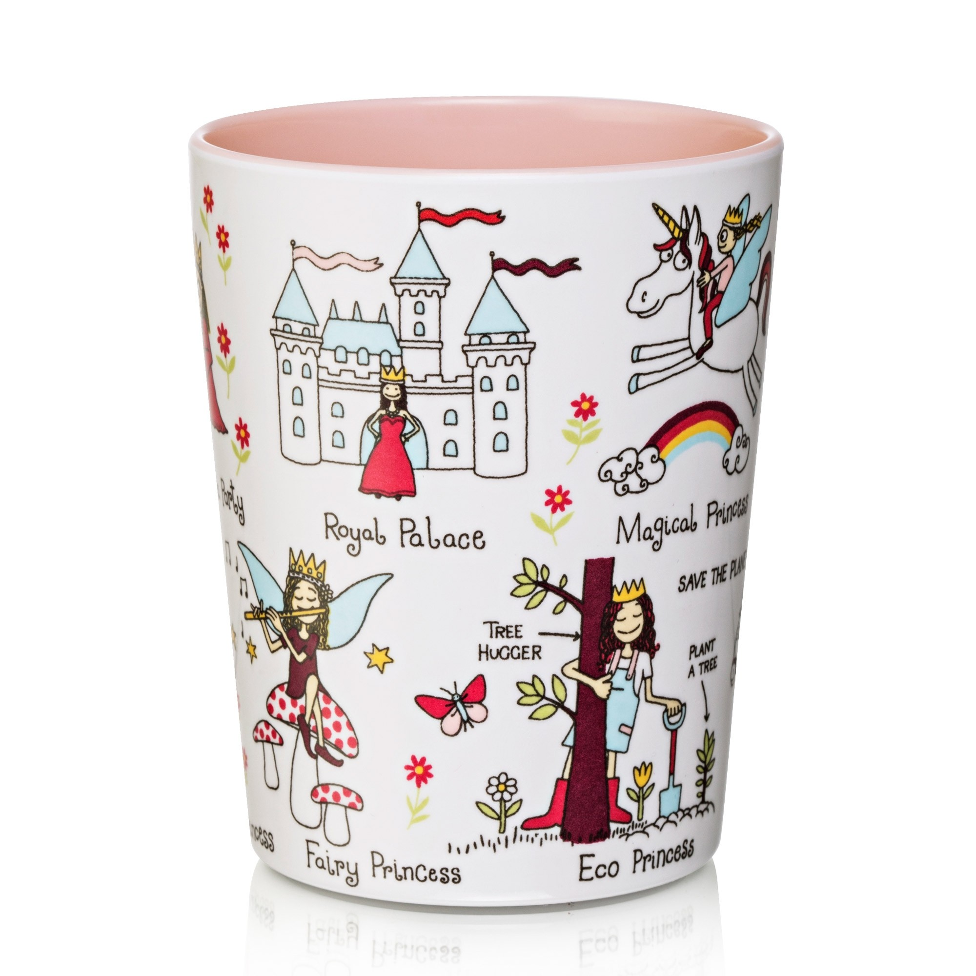 New Princess Design Melamine Beaker