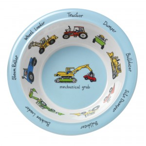 Trucks Melamine Bowl