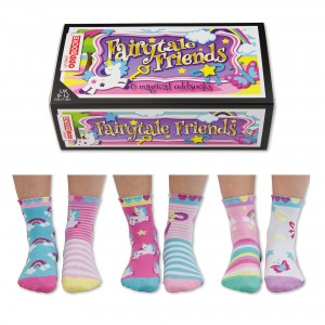 Oddsocks Fairytale Friends Set of 6 Size 9-12 UK