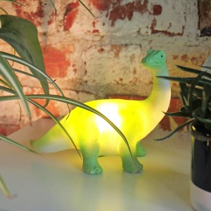 House of Disaster Green Diplodocus mini LED Night Light