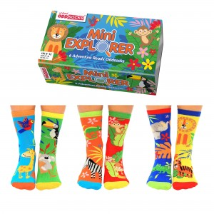 Mini Explorer Kids Socks