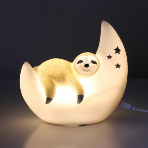 Mini Sloth LED bedroom light