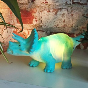triceratops led bedroom light