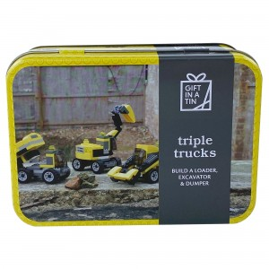 Triple Trucks Gift in a Tin