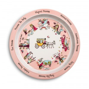 New Princess Design Melamine Plate
