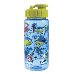 Dinosaur Drinking Bottle with straw