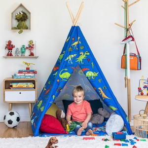 Dinosaur Children's Teepee Play Tent