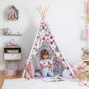 Secret Garden Children'sTeepee Play Tent