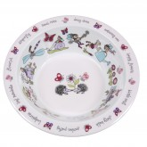 Secret Garden Melamine Bowl