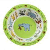 Jungle Melamine Bowl