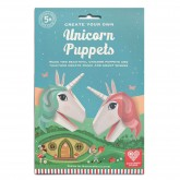 Create Unicorn Puppets