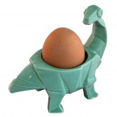 House of Disaster Dinosaur Turquoise Egg Cup