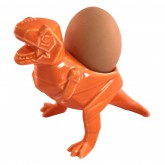 House of Disaster Dinosaur Orange Egg Cup