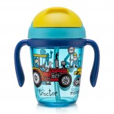 Trucks Toddler Drinking Bottle