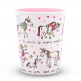 Unicorn Design Melamine Beaker