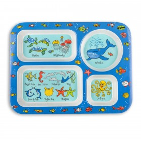 Ocean Design Melamine Compartment Tray