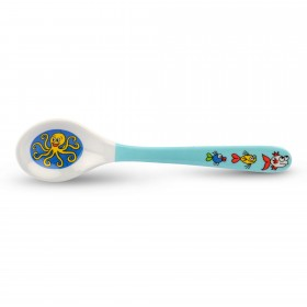 Ocean Print Toddler Melamine Spoon