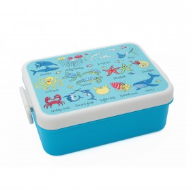 Ocean Print Children's Lunch Box