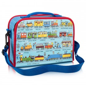 Trains Insulated Lunch Bag