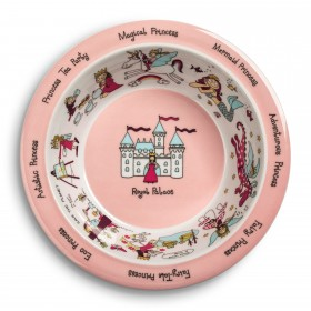 New Princess Design Melamine Bowl