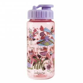 Secret Garden Drinking Bottle with straw