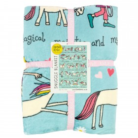 Unicorns Snuggle Blanket