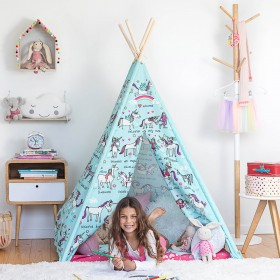 Unicorns  Children's Teepee Play Tent