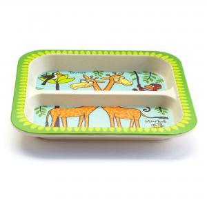 Jungle Bamboo Divider Plate