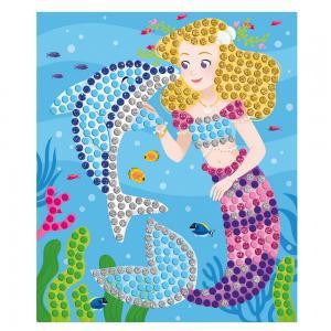 Create Dolphin and Mermaid Mosaics