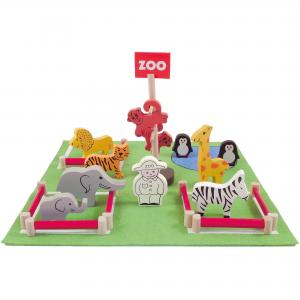 Zoo Set in a Tin