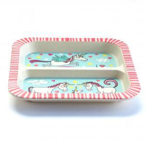 Unicorn Bamboo Divider Plate