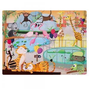 Tactile Zoo Puzzle
