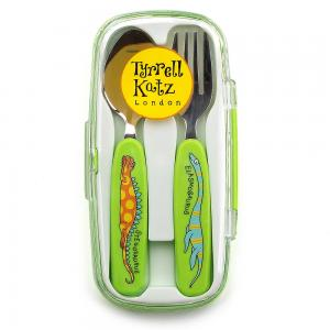 Dinosaurs Cutlery Set in case