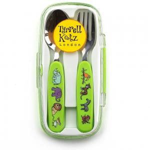 Jungle Cutlery Set in case
