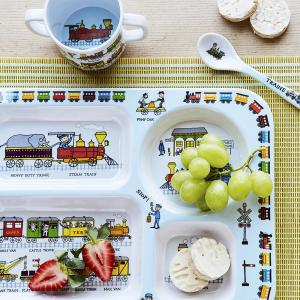 Trains Melamine Spoon