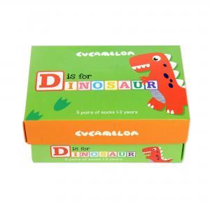 D is for Dinosaur Socks 5 Pairs 1-2yrs