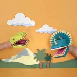 Create Dinosaur Puppets