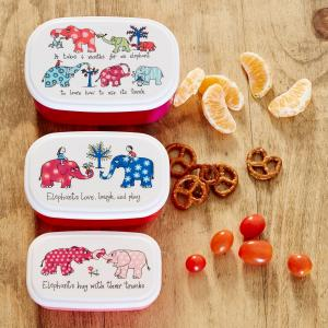 Elephants Snack Boxes