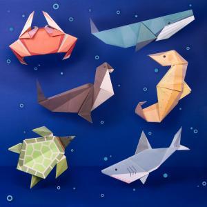Create Giant Ocean Origami