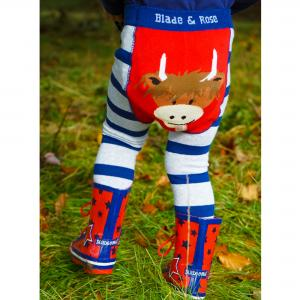 Blade & Rose Highland Cow Leggings