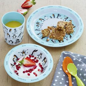 Penguins Melamine  Bowl